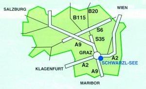Karte Anfahrt mensch&tier